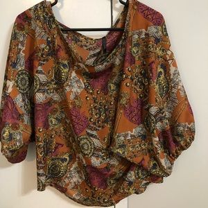 Boutique style 3/4 sleeve top